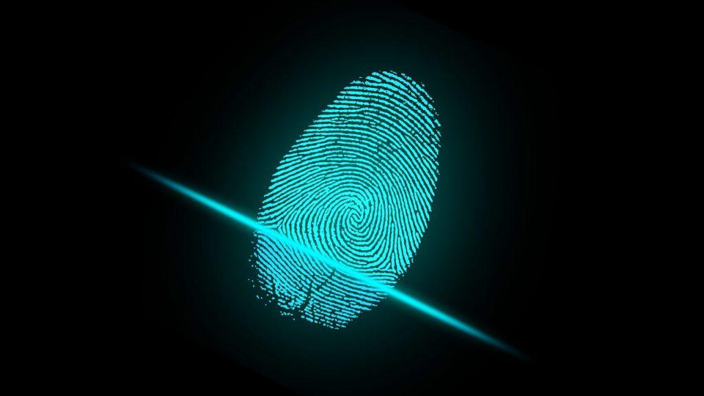 doigt, empreintes digitales, de sécurité