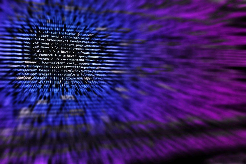 codage, ordinateur, hacker